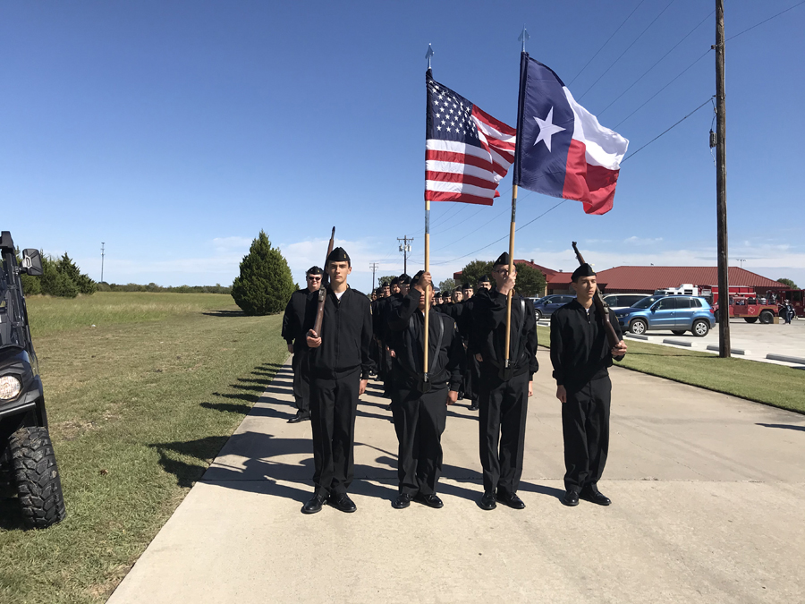 Naval cadet program CPO charts course for students