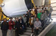 Engineering students visit NASA
