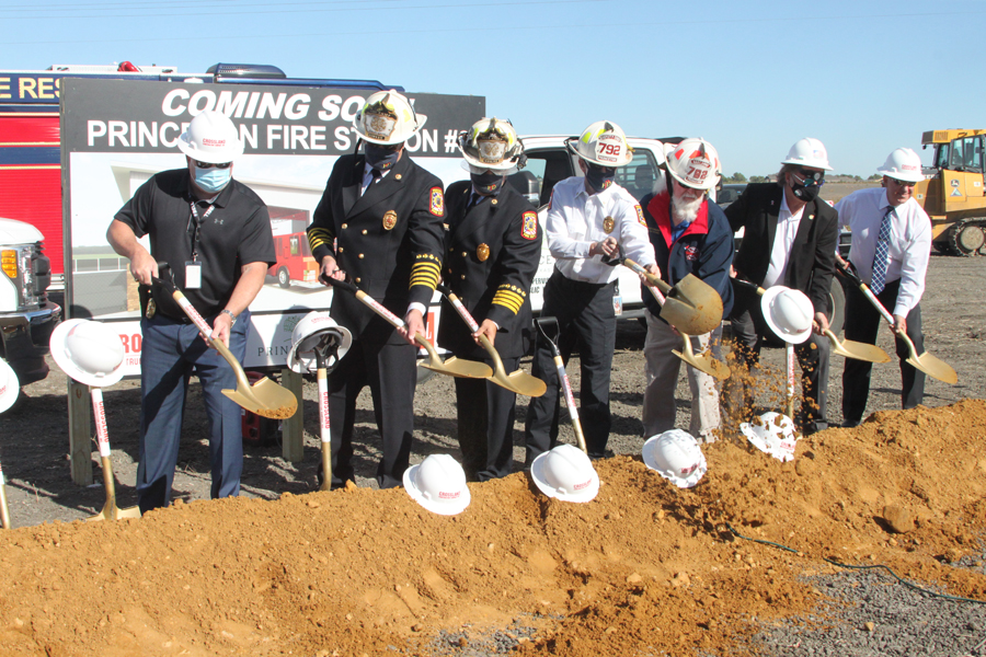 Princeton breaks ground on new firehouse