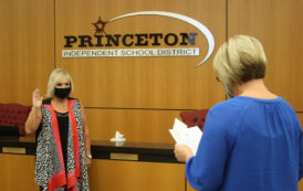 Princeton ISD school board welcomes new members