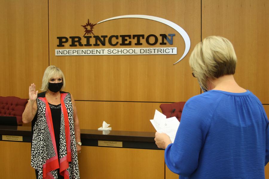 Princeton ISD school board welcomes new members