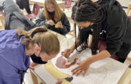 Art students create mini Sistine Chapel