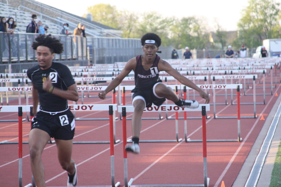 Princeton advances six in district track and field meet