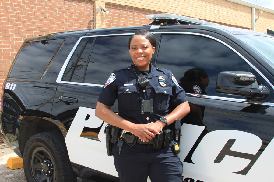 Officer happy to police Princeton