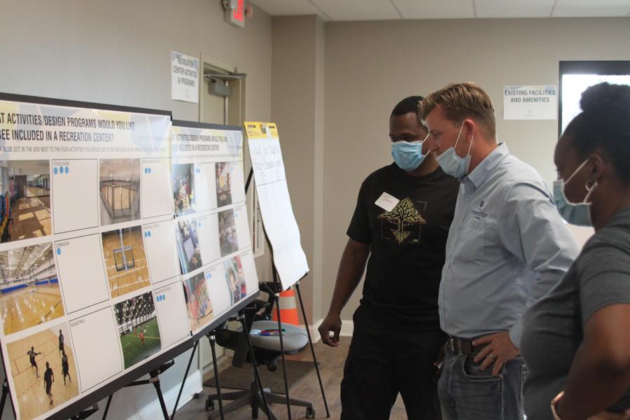 City presents recreation center options