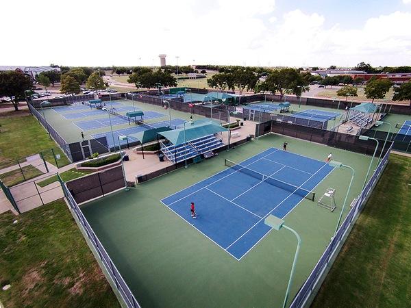 Collin College hosts men's national tennis tournament