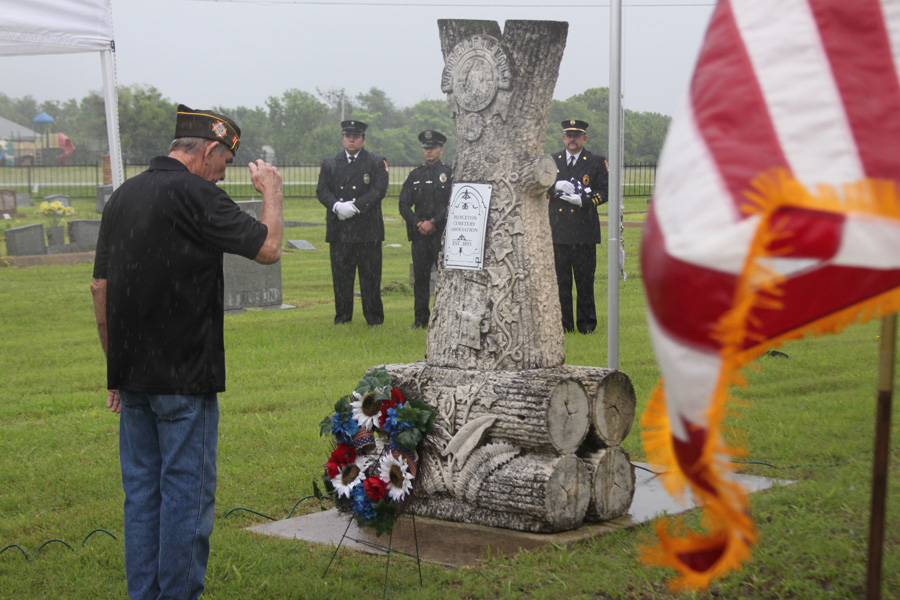 Memorial Day ceremony honors those that gave their all