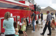 """Princeton Fire-Rescue hosts """"push-in"""" ceremony"""