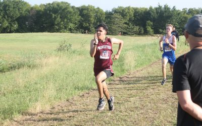 Panthers cross country compete in Denton